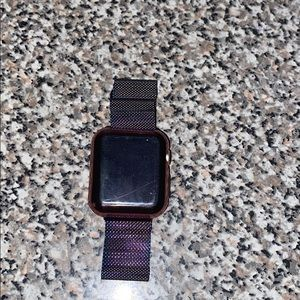 Apple watch comes with the case it has on
